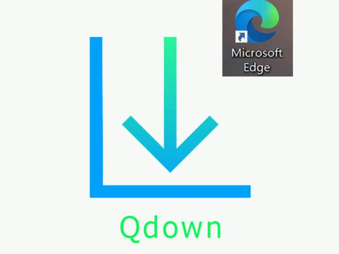 Qdown Edge插件